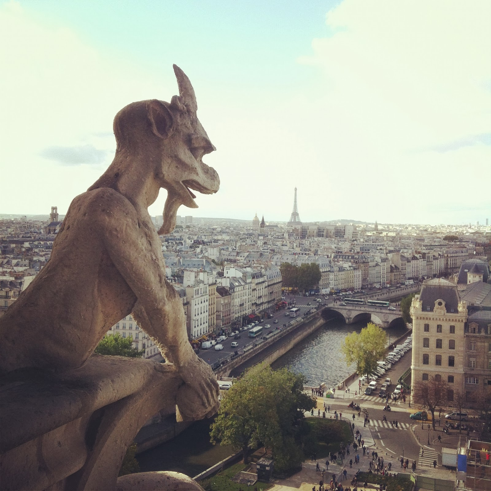 Gargola de Notre Dame, Paris