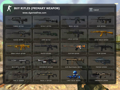 Counter Strike Xtreme V6 Weapons