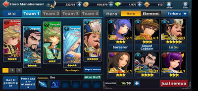 cara main Three Kingdom Quest Of Infinity Tips dan Cara Bermain Three Kingdom: Quest Of Infinity