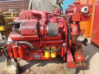 CAT 3412-C, caterpillar, complete marine engines, pre-owned, ship engine, propulsion engine, marine diesel engine