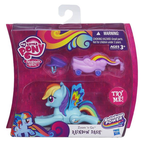 My Little Pony Zoom n Go Rainbow Dash Figure
