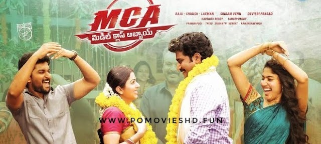 MCA - Middle Class Abbayi (2017) Hindi Dubbed 480p & 720p Download | 500MB & 1.1GB