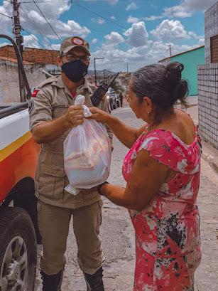 Campanha Somos Solidariedade realiza mais uma distribuição de alimentos em Guarabira