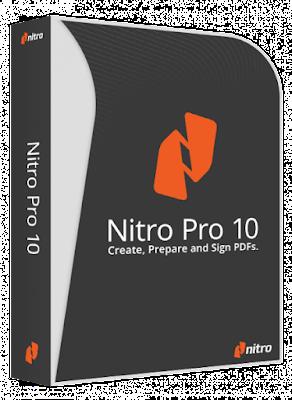 Nitro Pro 10 Editar Crear archivos en formato PDF