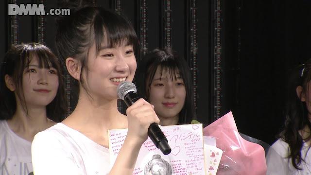 NMB48 'Yume wa Nigenai' 191210 RS8 LOD 1830 DMM (Nakano Mirai Birthday)