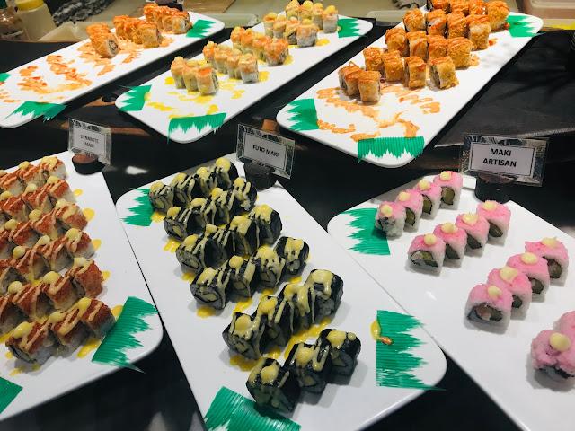 maki and sushi