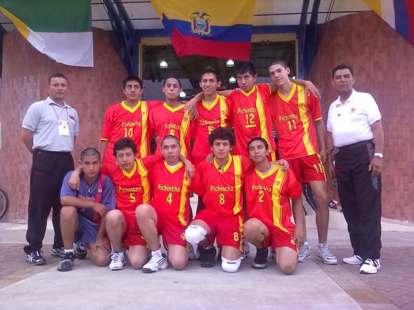 Equipo de voleibol de Pichincha
