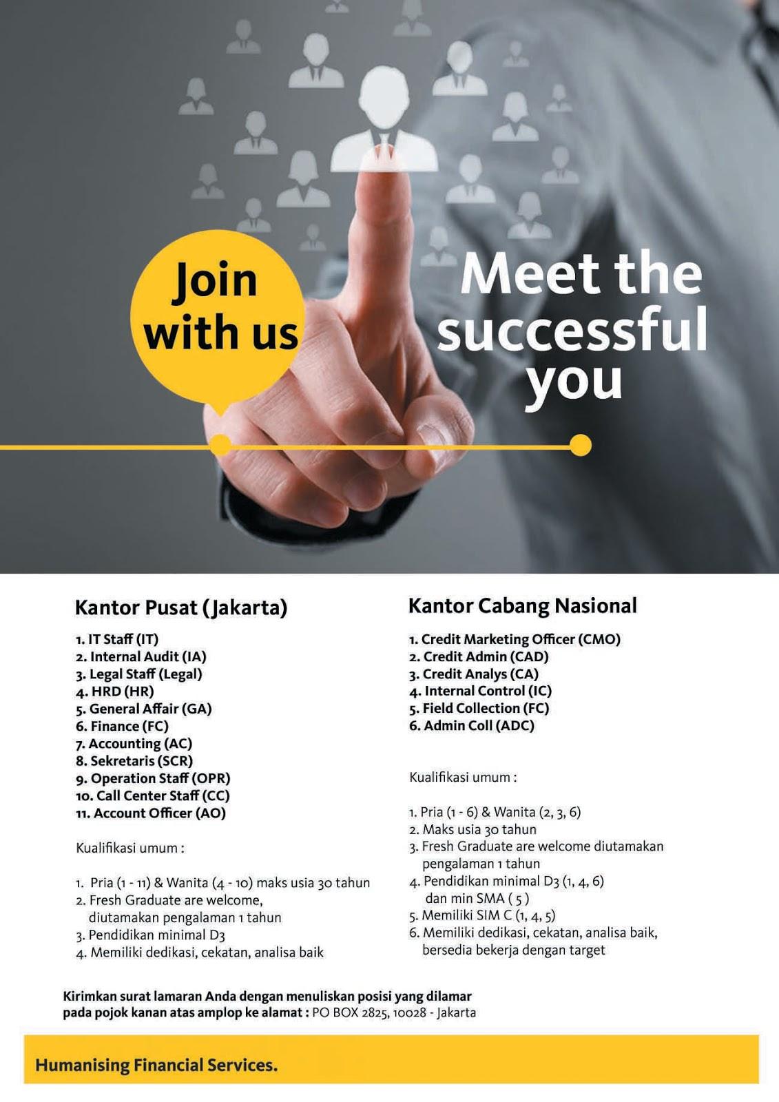 Lowongan Kerja PT Maybank Indonesia Finance