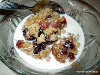 Cranberry Crumble and other Holiday Sweets and Treats on Homeschool Coffee Break @ kympossibleblog.blogspot.com - A collection of some of our favorite recipes for holiday cookies and other seasonal sweet treats!