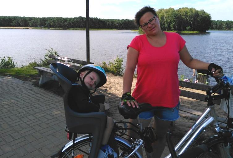 podróże rowerem z dzieckiem