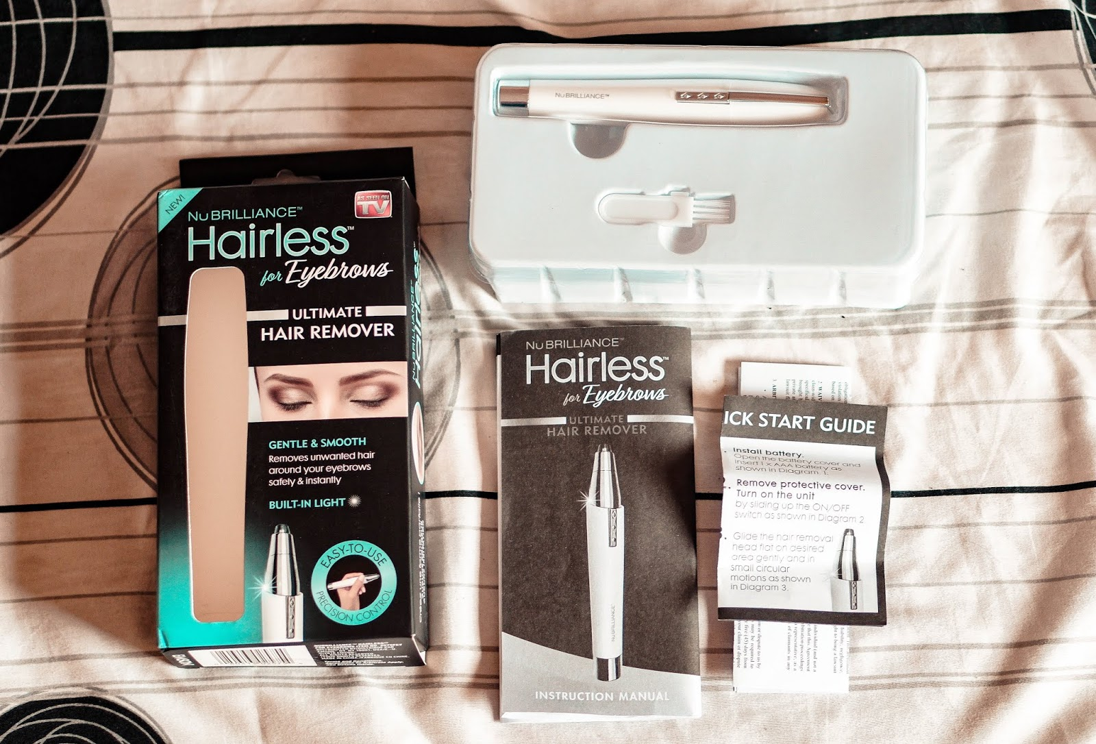 Nu Brilliance Hairless – The Ultimate Pain Free Hair Remover