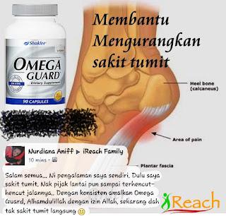 Omega Guard Bantu Sakit Tumit
