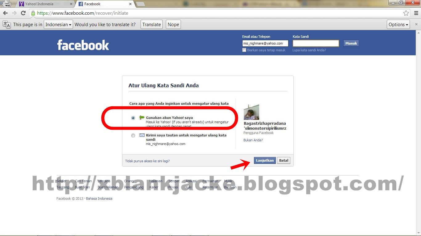 Cara Hack Fb New