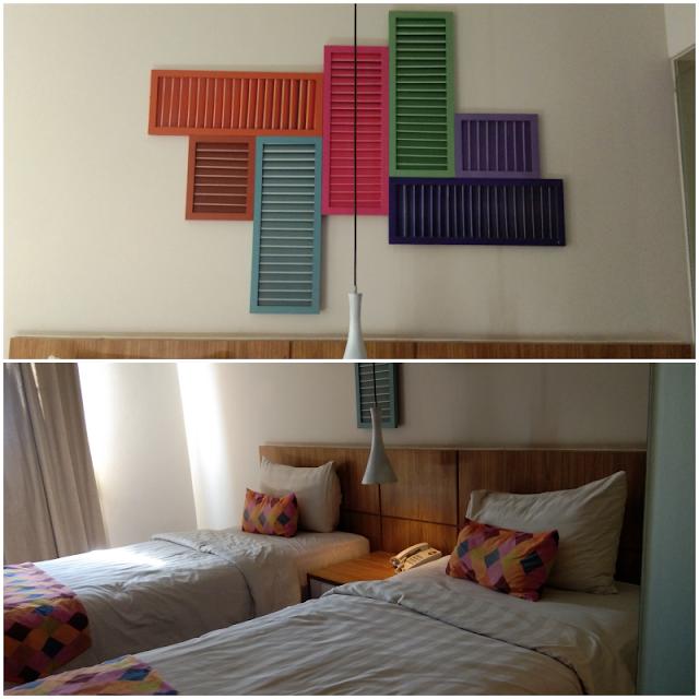 Kamar Hotel tjokro Style Jogja