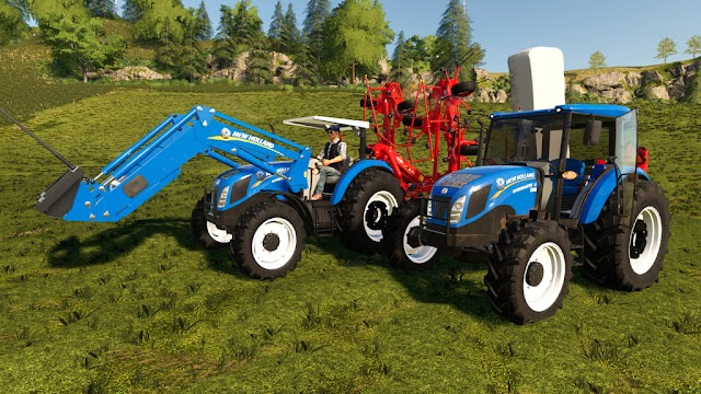 Trator New Holland Workmaster Series PC/Mac - XB1/PS4 v1.0.0.1