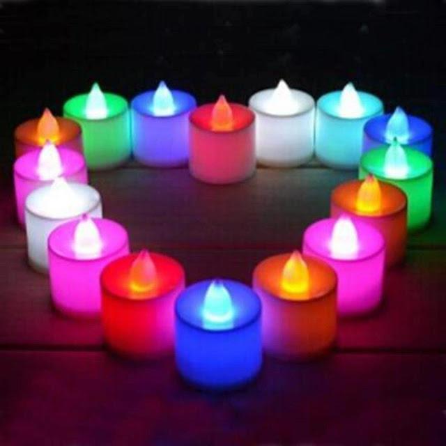LED Tea Light Candles Diwali gifts
