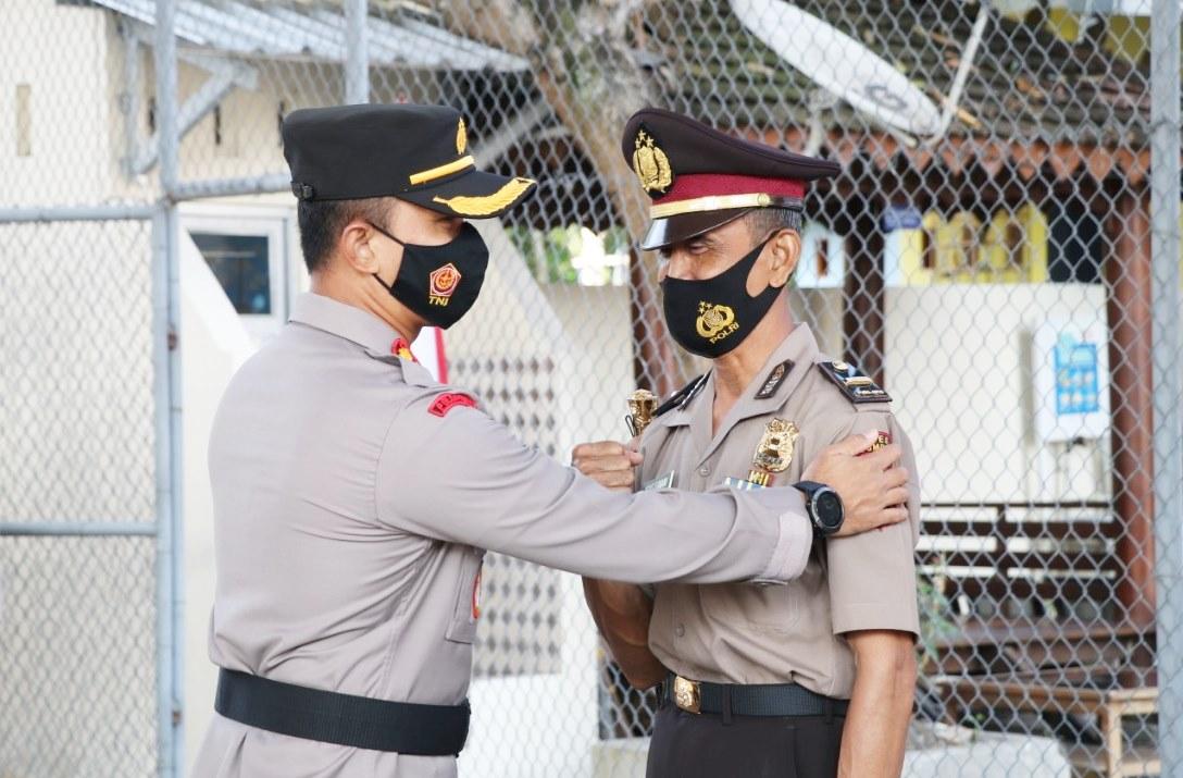 Penghargaan Pengabdian dari Kapolri, Tiga Anggota Polisi di Kebumen Naik Pangkat jadi Ipda