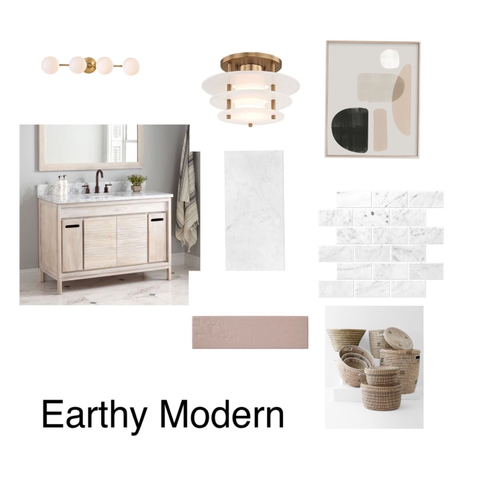 One Room Challenge -Week Two- design addict mom- the bathroom