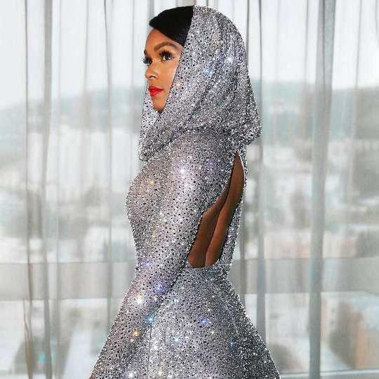 Janelle Monae Wearing Ralph Lauren for Oscars 2020