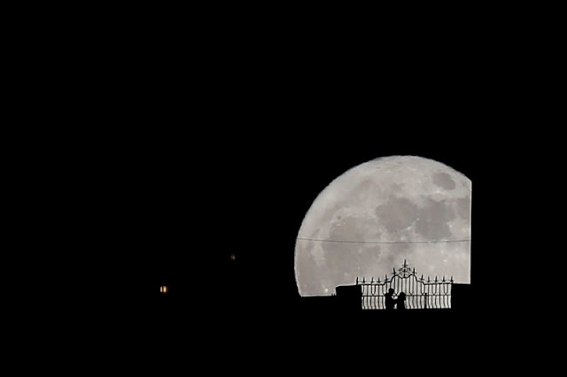 The 2017 Supermoon Seen