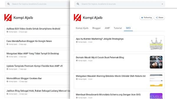 Mengatasi Gambar Postingan Tidak Muncul di Google News
