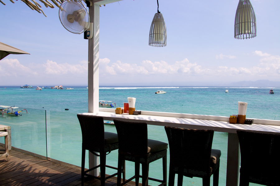 Кафе Лембонган на Бали в Индонезии