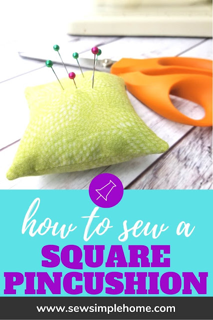Follow the step by step video and photo tutorial and learn how to sew corners.