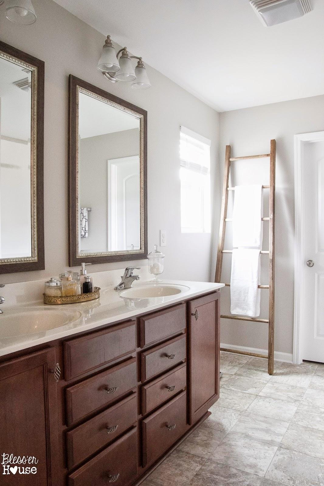 Bless'er House | Reclaimed Ladder Towel Rack
