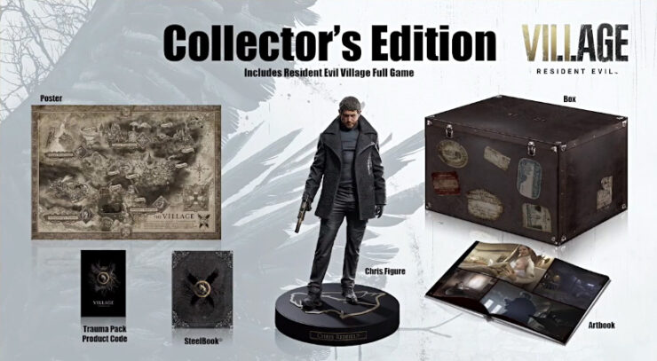 Resident Evil Village Exclusive edition