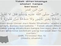 THAHARAH ( B e r s u c i )