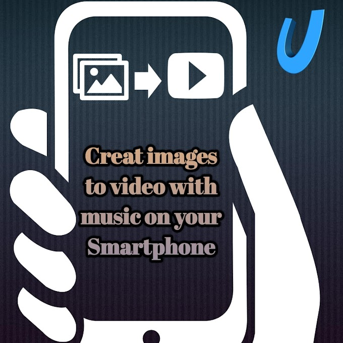 Create image to video with music on android phone in hindi | फोटो से विडियो। Create slideshow