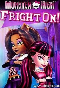 Pelicula Monster High Fright On