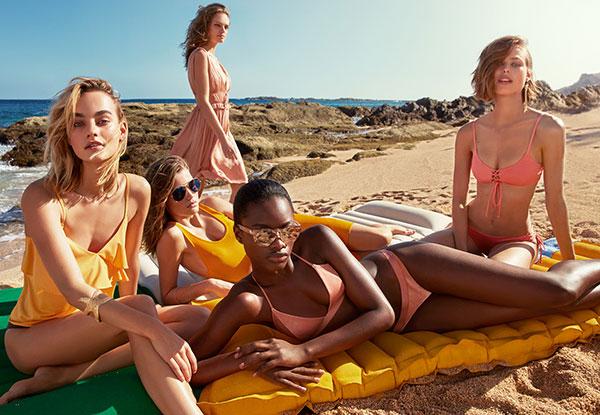 bikinis bañadores mujer H&M verano 2017