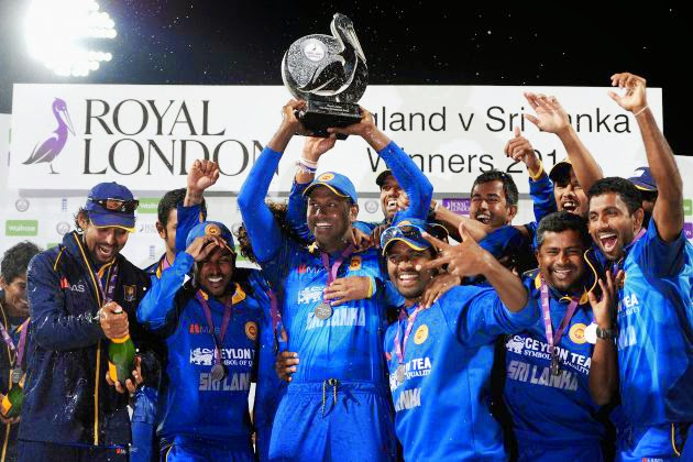 Sri Lanka beats England in one-day cricket series