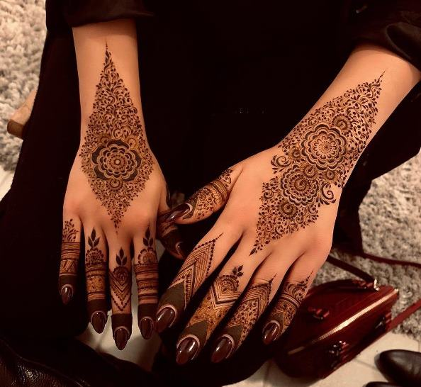 Special Mehndi Design Back Hand