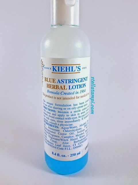 Review: Kiehl's Blue Astringent Herbal Lotion
