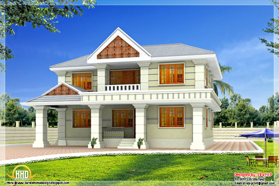 5 bhk India villa design