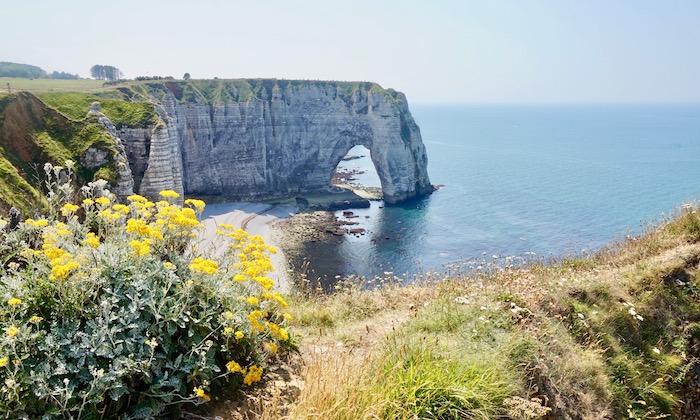 Cliff of Etretat