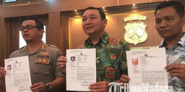 Polda Jatim Ungkap Daftar Buron Pembakaran Polsek Tambelangan Sampang, Ada Nama Habib & Kiai