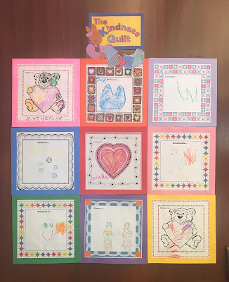 Kindness Storytime, Kindness craft, kindness quilt