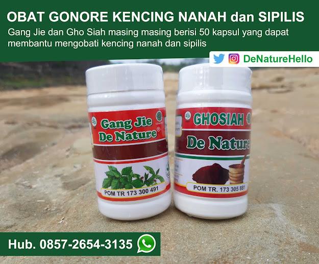 Obat Sipilis Kencing Nanah Gang Jie dan Gho Siah