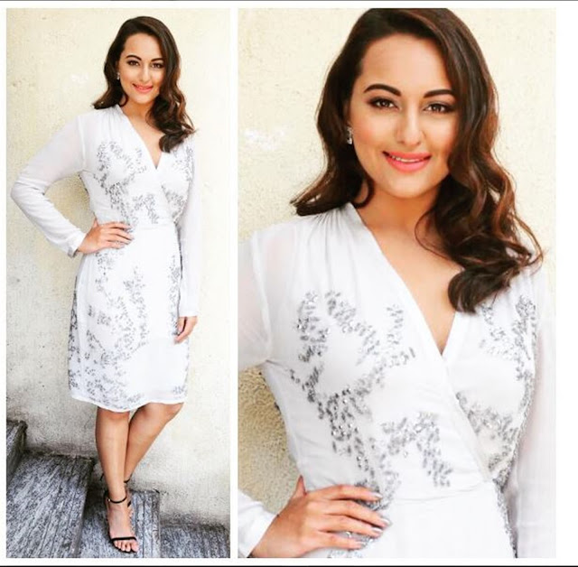 Spotted: Sonakshi Sinha in Aurelle By Leshna Shah Jewellery For Force 2 Trailer launch