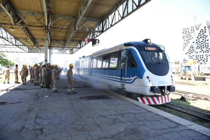 Se realizó el primer viaje de prueba del Tren de las Sierras hasta Córdoba Mitre