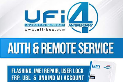 UFI Software Update v1.4.0.1464 | Support | Auth New Security | Oppo | Vivo | Xiaomi | Link Google Drive
