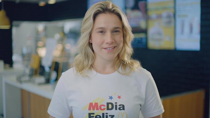 McDia Feliz 2020: Fernanda Gentil incentiva todo mundo a pedir seu Big Mac fazendo coraméqui