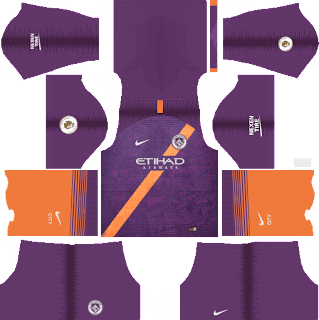 Manchester City - Dream League Soccer 2019 Kits & Logo