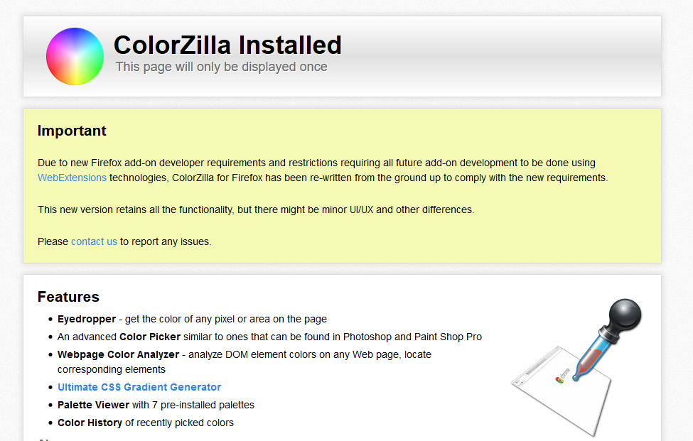 Tutorial ColorZilla For Forefox