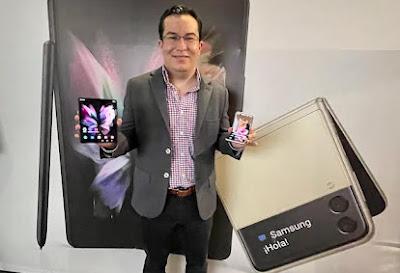 Galaxy Z Fold3 y Flip 3 ya están en Guatemala