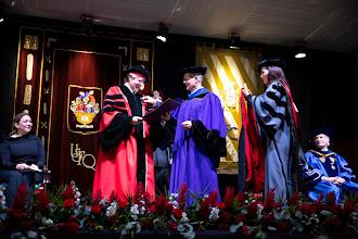 El presidente Guillermo Lasso recibió doctorado 'honoris causa' de la Universidad San Francisco de Quito
