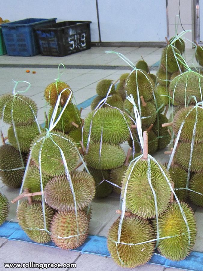 wild durian in brunei